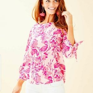 Lilly Pulitzer Langston top